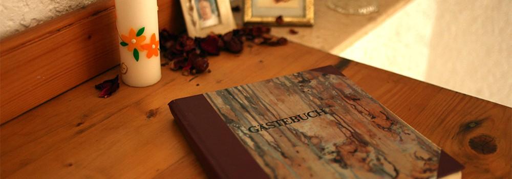 Gästebuch Pension Bobot
