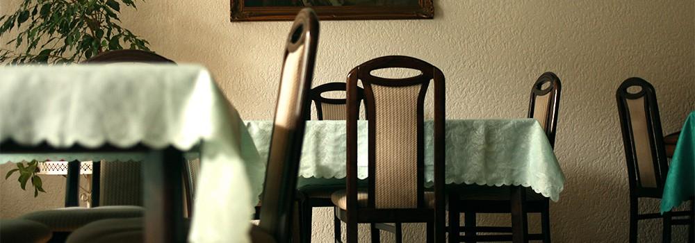 Pension Bobot Frühstücksraum